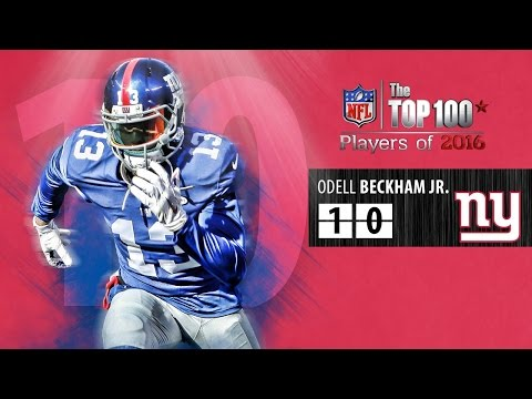 #10 Odell Beckham Jr. (WR, Giants) | Top NFL Players of 2016
