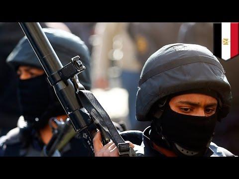 Egypt suicide car bomb attack kills 2, wounds 30 policemen in Egypt's Sinai peninsula