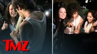 1975 Singer Matthew Healy Ripping Bong Hits with Fans | TMZ