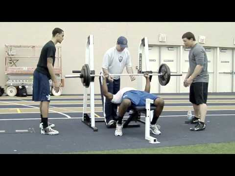 Darrius Gates - Indiana University - Bench Press BSN Pro Day