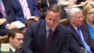British Prime Minister David Cameron gets questioned about rising anti-#Ahmadiyya hatred in the UK
