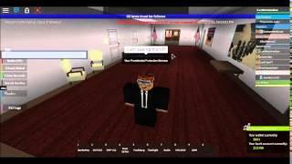 Sueing the VP [ROBLOX]