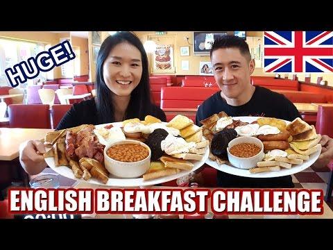 MASSIVE ENGLISH BREAKFAST CHALLENGE! (With Hungry Ronin)
