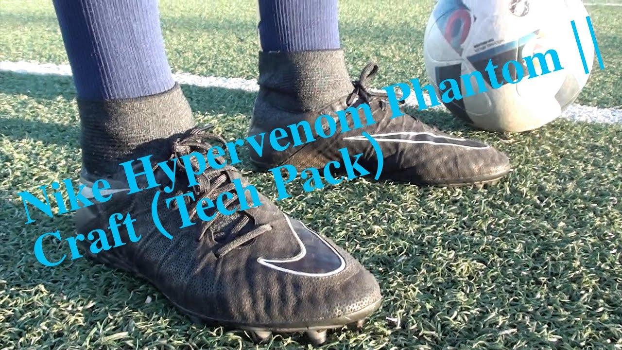 de8438abd76 Tech craft pack 2.0 Nike hypervenom phantom - Test - YouTube