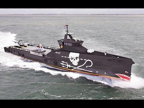 Download War Against Fish Poachers Ship Boarding Boat Battle Crash Accident Sea Pirats Water Jet Japan