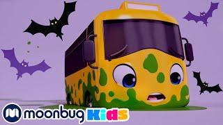 Бастер и Хэллоуин Мультики для детей Автобус Бастер Мультики на Русском