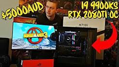 $5000 AUD Gaming PC Build Unboxing - i9 9900KS RTX 2080 Ti OC
