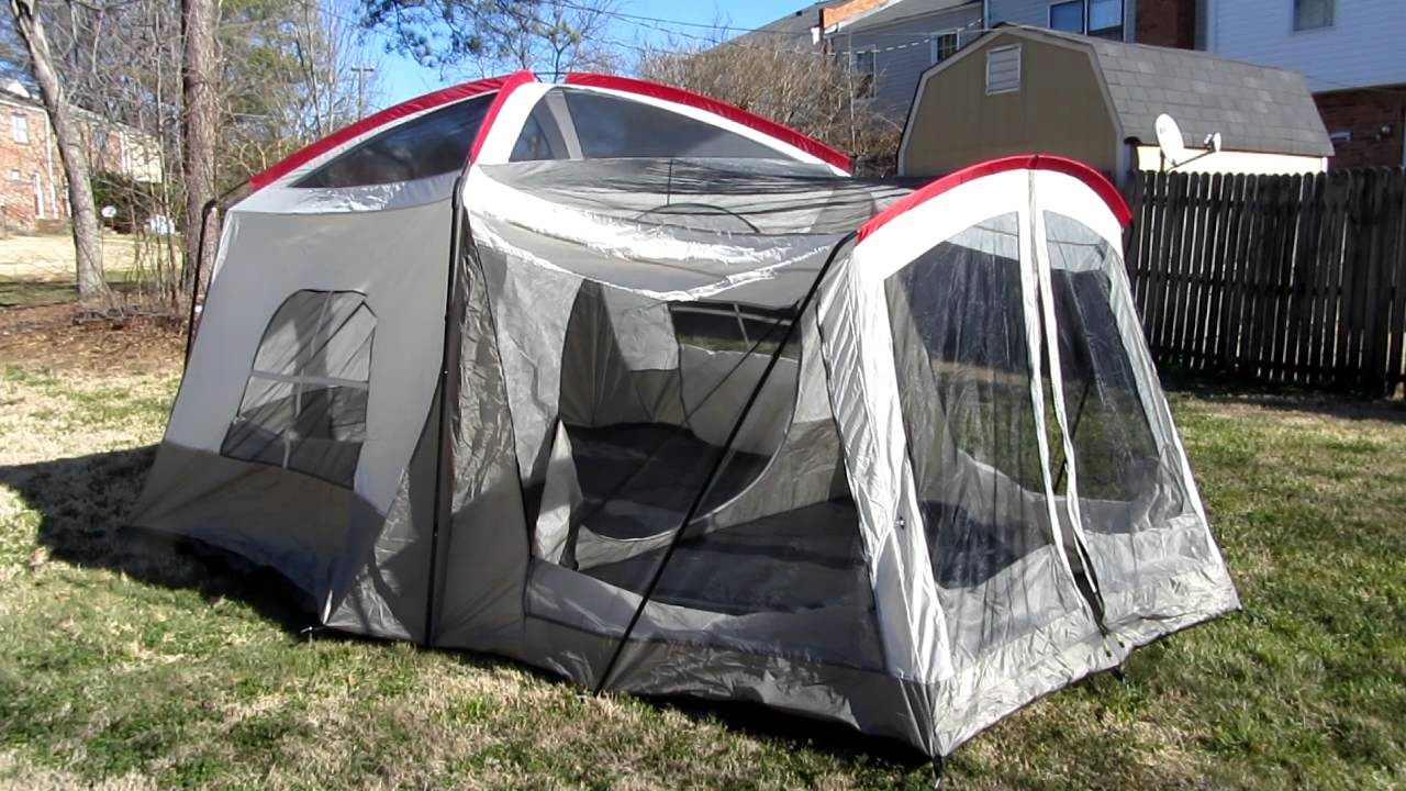 Wenzel Klondike tent review 2 of 2 & Wenzel Klondike tent review 2 of 2 - YouTube