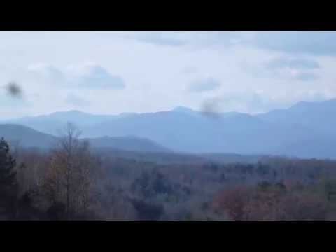 View of Blue Ridge Escarpment looking west near I-40 in NC