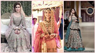 Latest Pakistani Engagement Bride Look & Hairstyles 2020/Stunning Engagement Dresses Ideas For Girl
