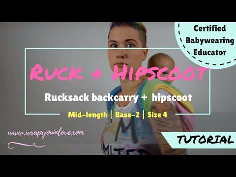Babywearing Basics: Rucksack & Hipscoot