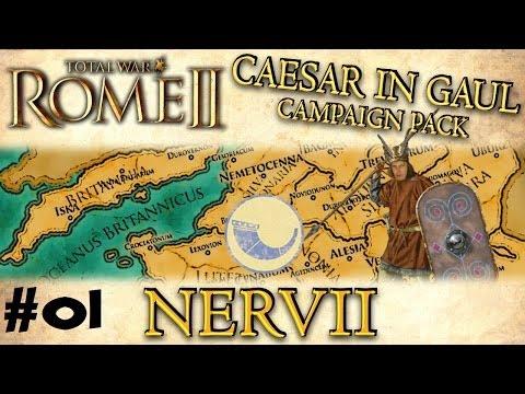 Total War: Rome II - Caesar In Gaul - Nervii Campaign - Part One - WAR!