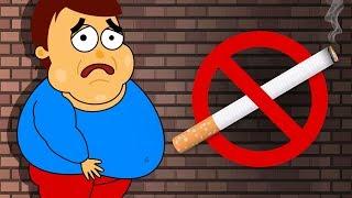 Как бросить курить и не растолстеть?(анимация)(Секреты науки выпуск#10)