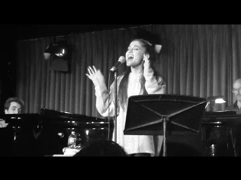 ARIANA GRANDE sings JASON ROBERT BROWN!!!