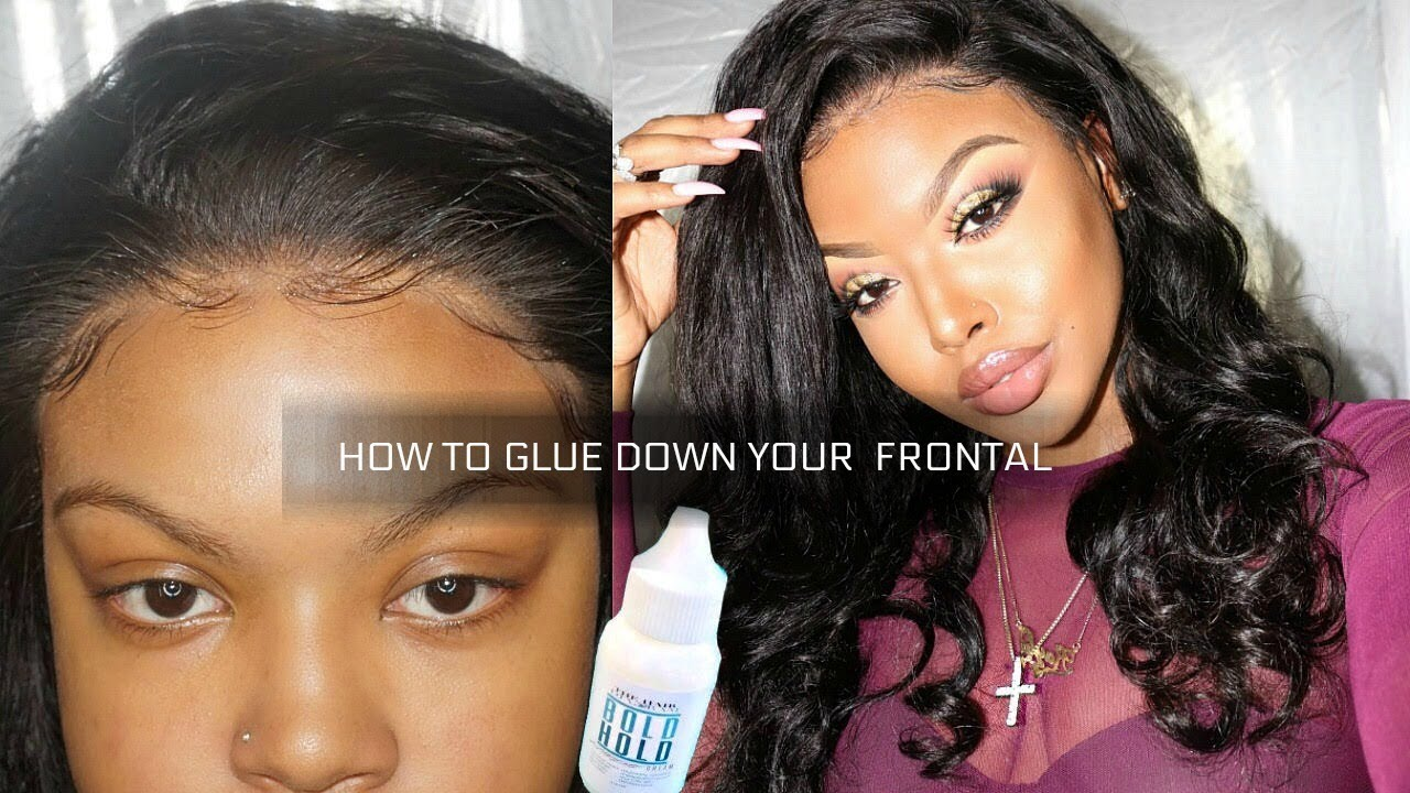 How I Glue Down My Lace Front Wigs Ft Chinalacewigs