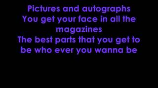 Best of both worlds- lyrics (Hannah Montana: the movie VERSION)