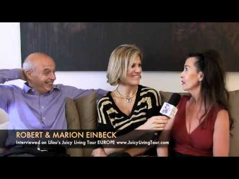 Living life inspired by art, love, and passion - Marion & Robert Einbeck, Brussels Belgium