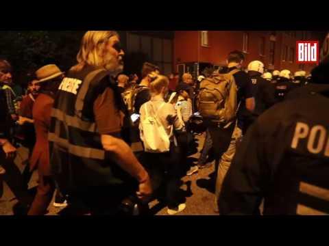 Straßenschlacht G20 Hamburg Quelle: Bild.de