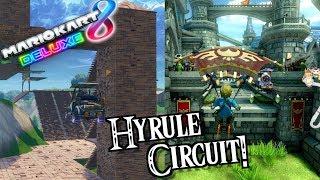 MARIO KART, HYRULE CIRCUIT IN FORTNITE!!! [Mario Kart 8 Deluxe x Fortnite]