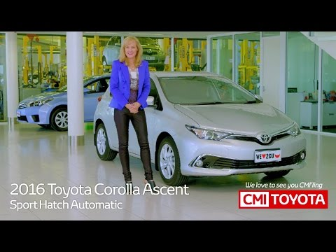 2016 Toyota Corolla Ascent Sport Hatch Review by CMI Toyota