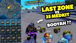 35+ MEDKIT HEAL BATTLE CHALLENGE IN LAST ZONE || Desi Gamers