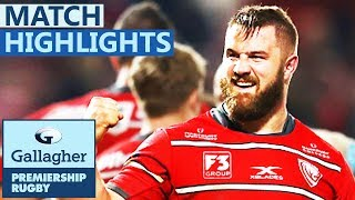 Gloucester 24-17 Exeter | Gloucester Triumph In Derby Tie | Gallagher Premiership - Highlights