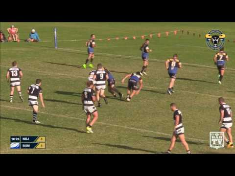 2017 Group 7 Round 7 1st Grade - Nowra Bomaderry Jets v Berry Shoalhaven Magpies