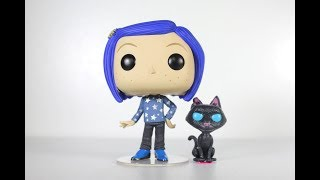 CORALINE WITH CAT Funko Pop review