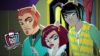 #МонстерХай: Мотор! Вампиры против оборотней! Лучшие мультики онлайн. Monster High