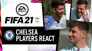 """""""I have to play with these guys!"""" Chelsea Players Pick Each Other's FIFA 21 Ratings!"""