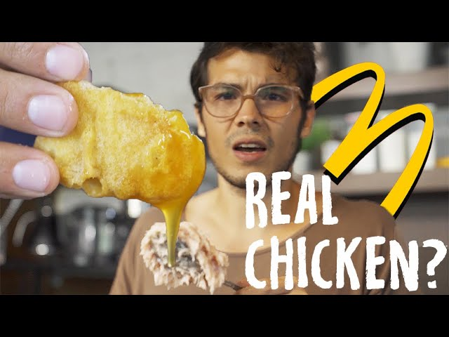 Homemade Chicken McNuggets (Fast Food At Home, Semi-Fail)