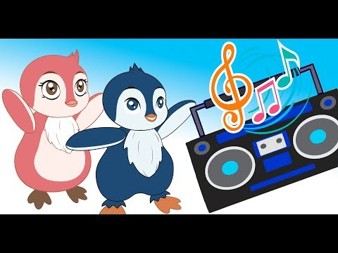 Penguin Sings a song If You're Happy | Super Simple Songs for kids cartoon