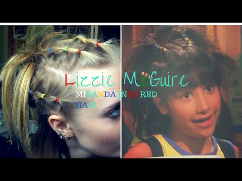 EARLY 2000\'s HAIR: Lizzie McGuire Inspired - YouTube