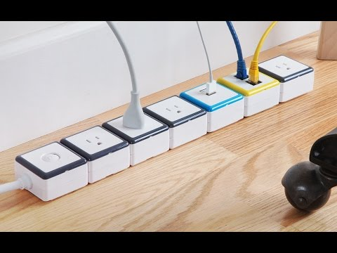 This power strip adapts to you.