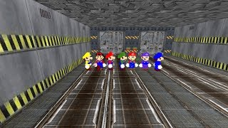 Can You Survive Mario All Star In Area 51 Roblox