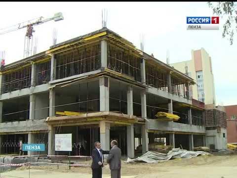 Перинатальный центр в Пензе планируется сдать в срок