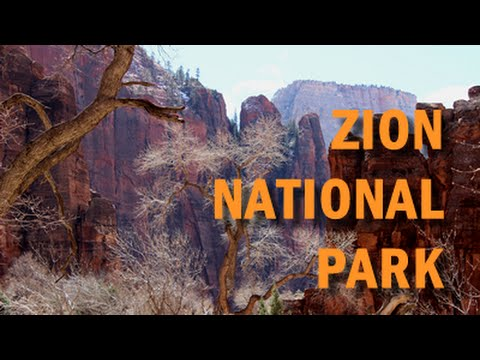 Zion National Park, Utah - Spectacular Winter Time Scenic Drive