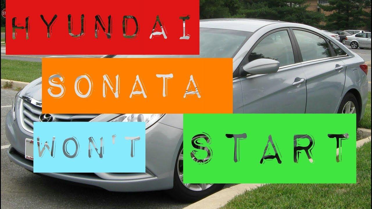2011 hyundai sonata won 39 t start issue one click fixed youtube. Black Bedroom Furniture Sets. Home Design Ideas