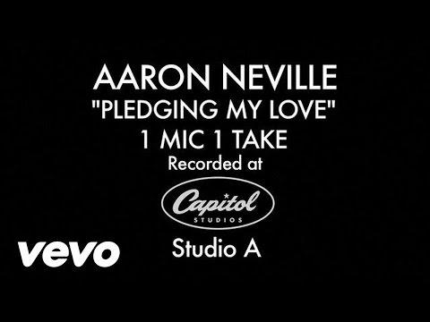 Aaron Neville - Pledging My Love (1 Mic 1 Take)