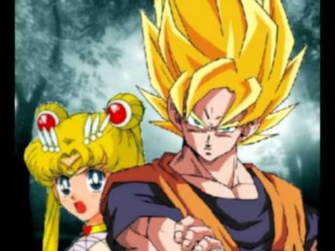 Dragon Ball Z Girls Wallpaper Serena And Goku Youtube