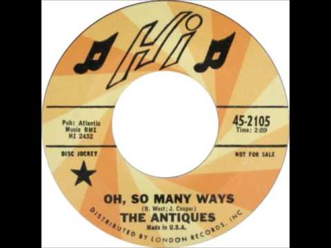The Antiques - Oh, So Many Ways