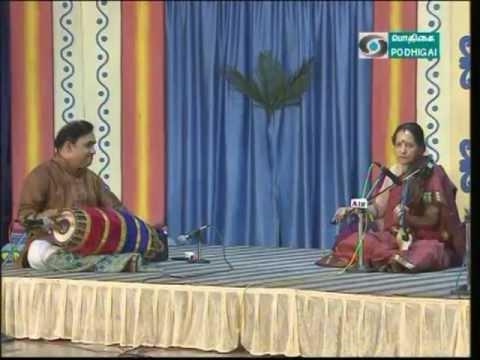 Lalitha Raghavan -Violin -KarunaiDeivame-Sindubhairavi