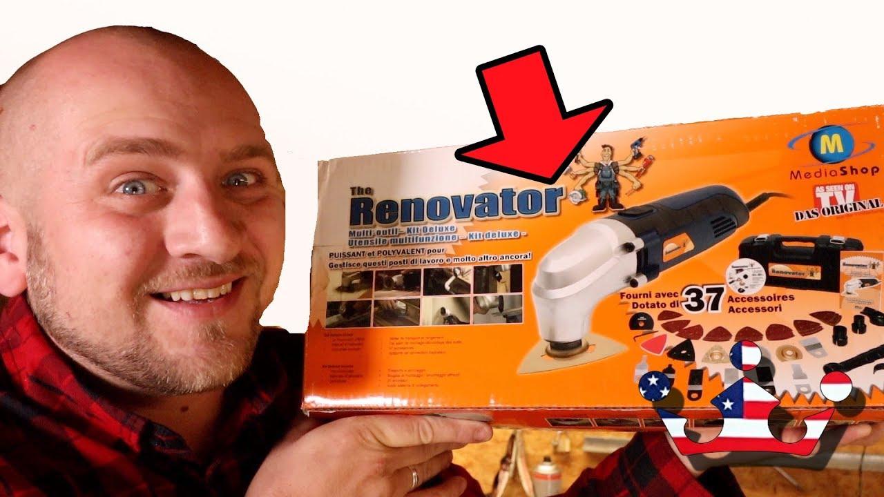 renovator deluxe - das multitool - 37 teiliges set – das original