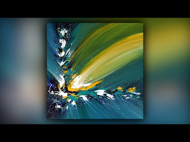 Abstract Painting / Satisfying / Acrylics / Palette Knife / Demo #084