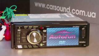 Обзор автомагнитолы Autofun DVA-5290 UG