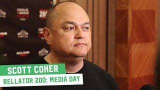 Bellator 200 Media Day: Scott Coker Media Scrum