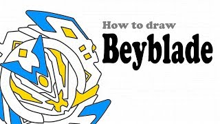 Beyblade Drawing | How to draw Beyblade