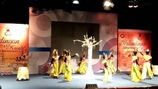 SKCBM Traditional Dance Anak Ular a dance originated from East Coast Malaysia.