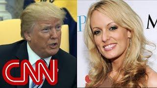 Stormy Daniels sues Trump over alleged affair