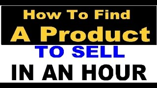 How to Find a Product in 1-Hour Flat! for Amazon by Rob & Jake